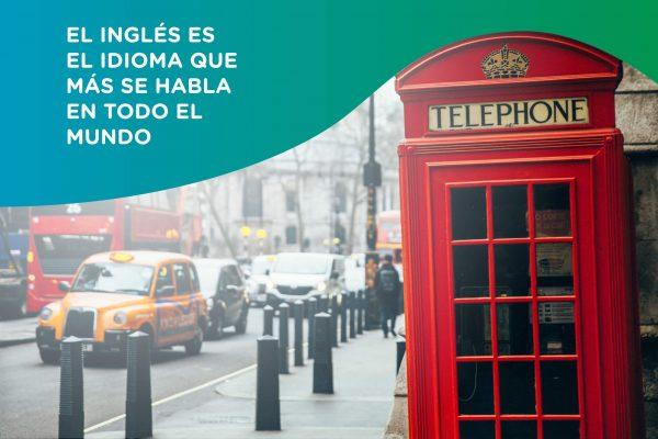El inglés es hablado en todo el mundo