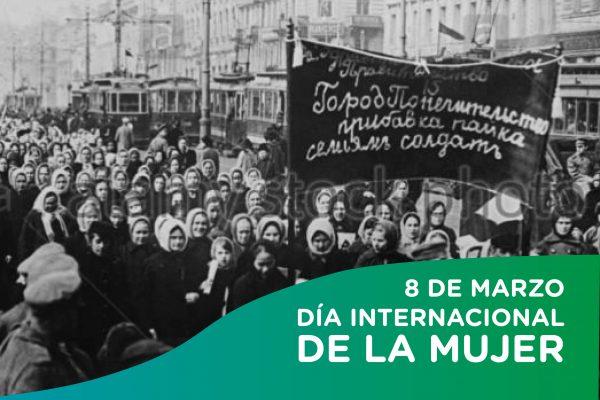 Mujeres rusas en las manifestaciones de 1917