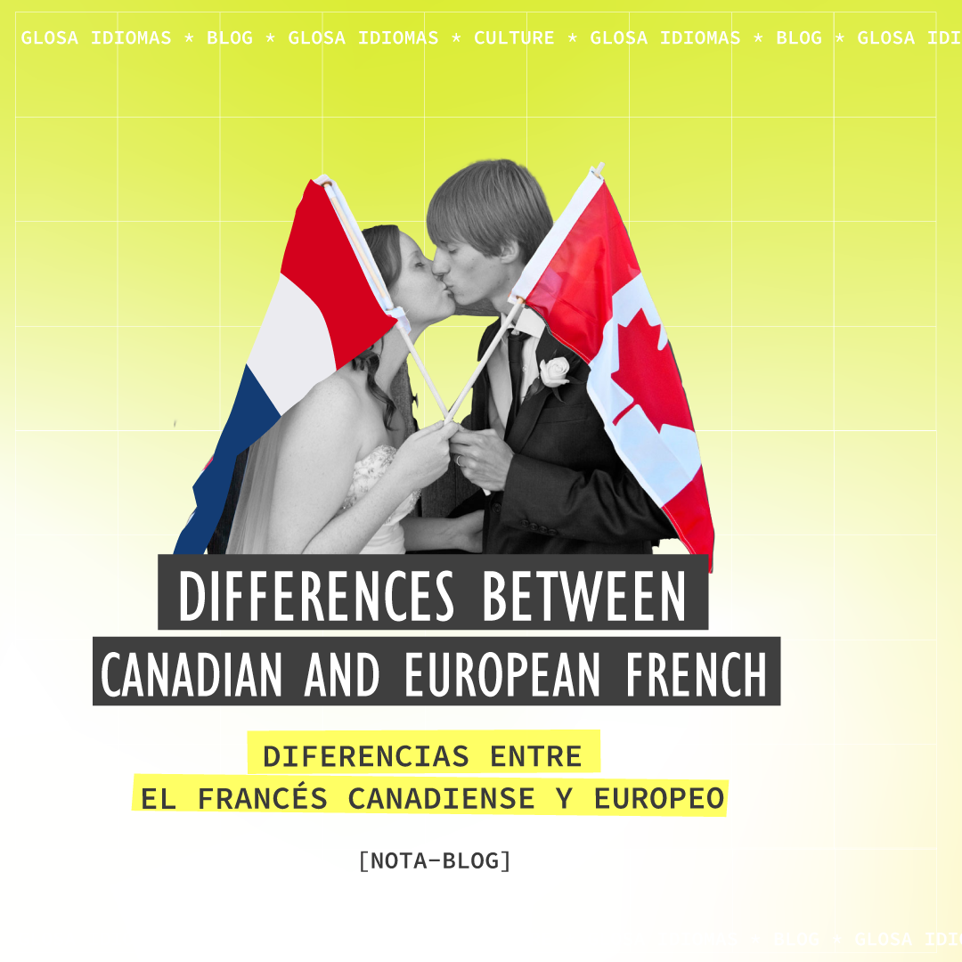 Differences between Canadian and European French