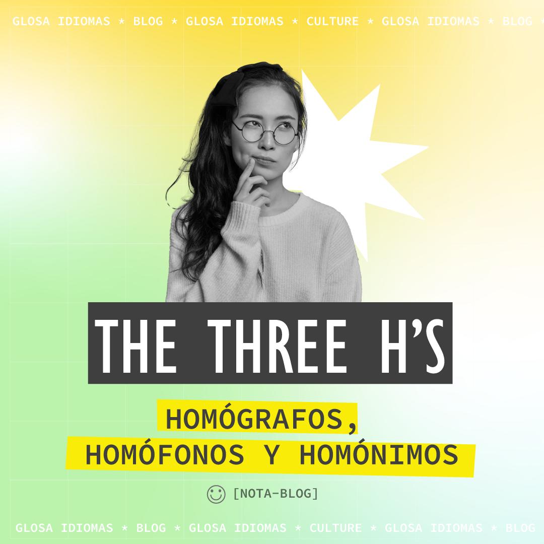 𝗧𝗵𝗲 𝗧𝗵𝗿𝗲𝗲 𝗛'𝘀: Homographs, homophones and homonyms