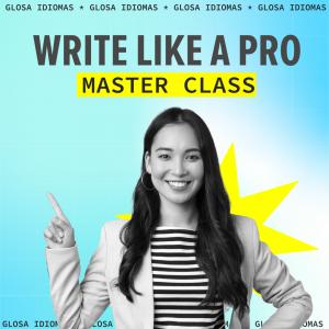 Masterclass Write Like a Pro